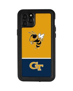Georgia Tech Yellow Jackets iPhone 11 Pro Max Waterproof Case