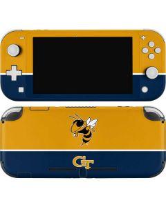 Georgia Tech Yellow Jackets Nintendo Switch Lite Skin