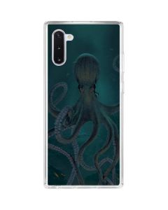 Giant Octopus Galaxy Note 10 Clear Case