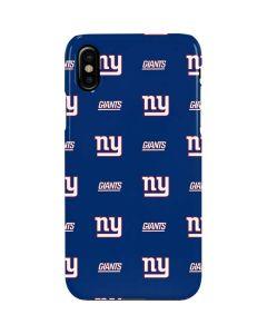New York Giants Blitz Series iPhone XS Max Lite Case