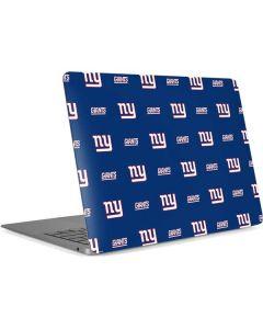 New York Giants Blitz Series Apple MacBook Air Skin