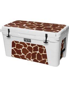 Giraffe YETI Tundra 75 Hard Cooler Skin