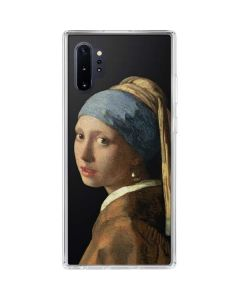 Girl with a Pearl Earring Galaxy Note 10 Plus Clear Case