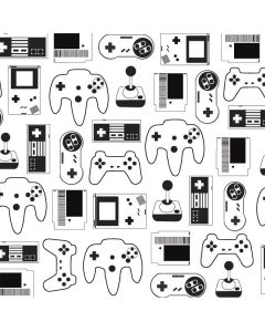 Retro Gaming Controllers Roomba s9+ no Dock Skin