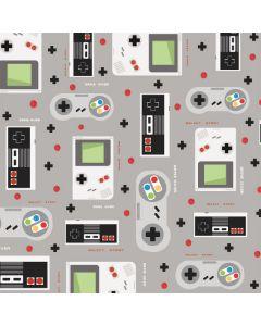 Retro Nintendo Pattern Galaxy Book Keyboard Folio 12in Skin