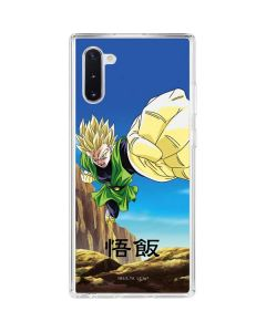 Gohan Power Punch Galaxy Note 10 Clear Case