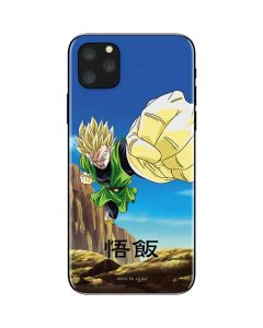 Gohan Power Punch iPhone 11 Pro Max Skin