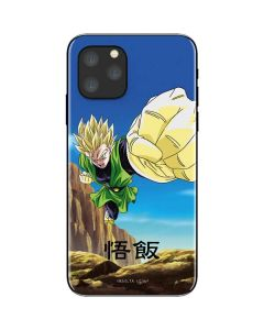 Gohan Power Punch iPhone 11 Pro Skin