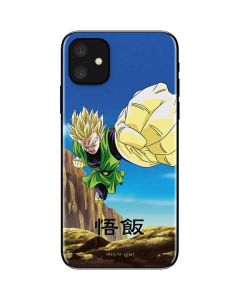 Gohan Power Punch iPhone 11 Skin