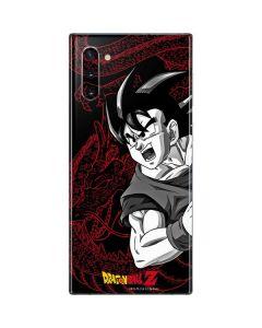 Goku and Shenron Galaxy Note 10 Skin