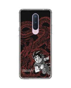 Goku and Shenron OnePlus 8 Clear Case