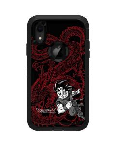 Goku and Shenron Otterbox Defender iPhone Skin