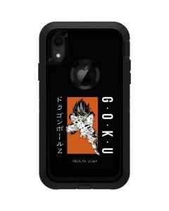 Goku Combat Otterbox Defender iPhone Skin