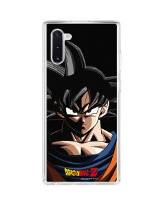 Goku Portrait Galaxy Note 10 Clear Case
