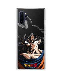 Goku Portrait Galaxy Note 10 Plus Clear Case
