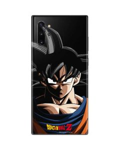 Goku Portrait Galaxy Note 10 Plus Skin