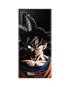 Goku Portrait Galaxy Note 10 Skin