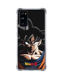 Goku Portrait Galaxy S20 FE Clear Case