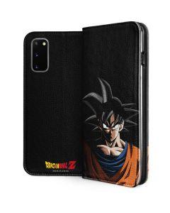 Goku Portrait Galaxy S20 Folio Case