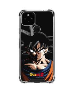 Goku Portrait Google Pixel 5 Clear Case