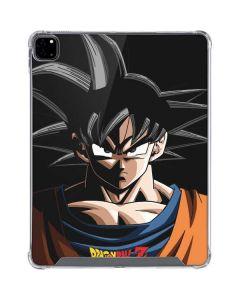 Goku Portrait iPad Pro 12.9in (2020) Clear Case