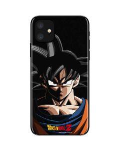 Goku Portrait iPhone 11 Skin