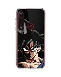 Goku Portrait Moto G8 Plus Clear Case