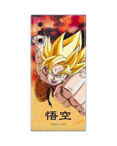 Goku Power Punch Galaxy Note 10 Skin