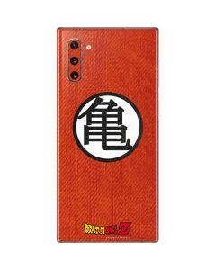 Goku Shirt Galaxy Note 10 Skin