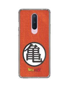 Goku Shirt OnePlus 8 Clear Case