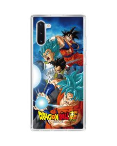 Goku Vegeta Super Ball Galaxy Note 10 Clear Case