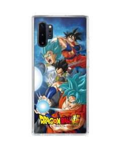 Goku Vegeta Super Ball Galaxy Note 10 Plus Clear Case