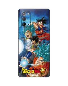 Goku Vegeta Super Ball Galaxy Note20 5G Skin