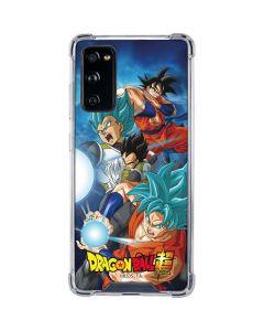 Goku Vegeta Super Ball Galaxy S20 FE Clear Case