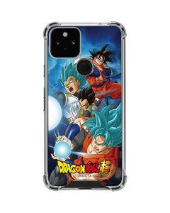 Goku Vegeta Super Ball Google Pixel 5 Clear Case