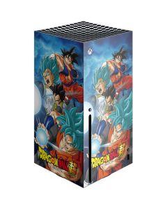 Goku Vegeta Super Ball Xbox Series X Console Skin