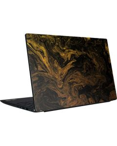 Gold and Black Marble Dell Vostro Skin