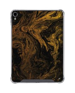Gold and Black Marble iPad Pro 11in (2018-19) Clear Case