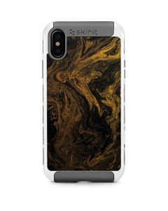 Gold and Black Marble iPhone X/XS Cargo Case