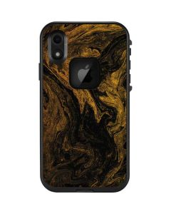Gold and Black Marble LifeProof Fre iPhone Skin