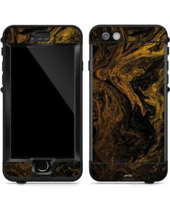Gold and Black Marble LifeProof Nuud iPhone Skin