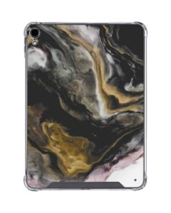 Gold Blush Marble Ink iPad Pro 11in (2018-19) Clear Case