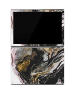 Gold Blush Marble Ink Surface Pro 7 Skin