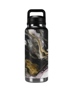 Gold Blush Marble Ink YETI Rambler 36oz Bottle Skin