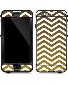 Gold Chevron LifeProof Nuud iPhone Skin