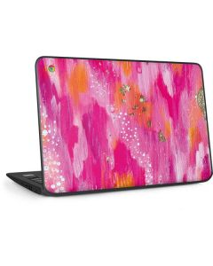 Gold Dust HP Chromebook Skin