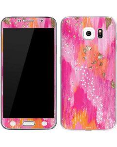 Gold Dust Galaxy S6 Skin