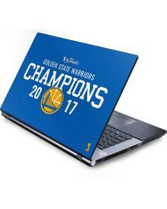 Golden State Warriors 2017 Champions Generic Laptop Skin