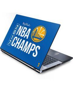 Golden State Warriors 2017 NBA Champs Generic Laptop Skin
