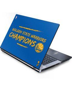 Golden State Warriors 2018 Champions Generic Laptop Skin